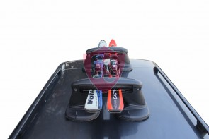 Magnetic Ski- and Snowboard Carrier | FABBRI TACO