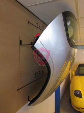 Porsche 986 Boxster Hardtop Wall Mounting Kit