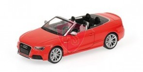 Audi RS5 Cabriolet Red 1:43 Minichamps