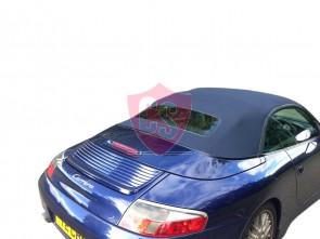 Porsche 996 fabrics hood with PVC rear window 2001-2007