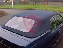 Renault 19 hood - PVC rear window 1992-1995
