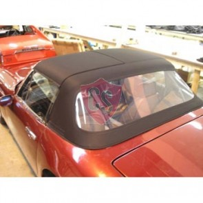TVR S1, S2, S3 fabrics hood with PVC rear window 1986-1993
