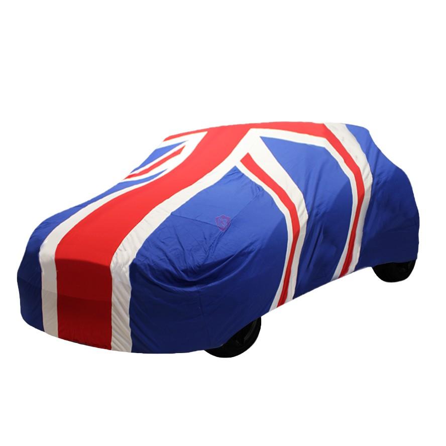 mini union jack car indoor cover cabrio supply. Black Bedroom Furniture Sets. Home Design Ideas
