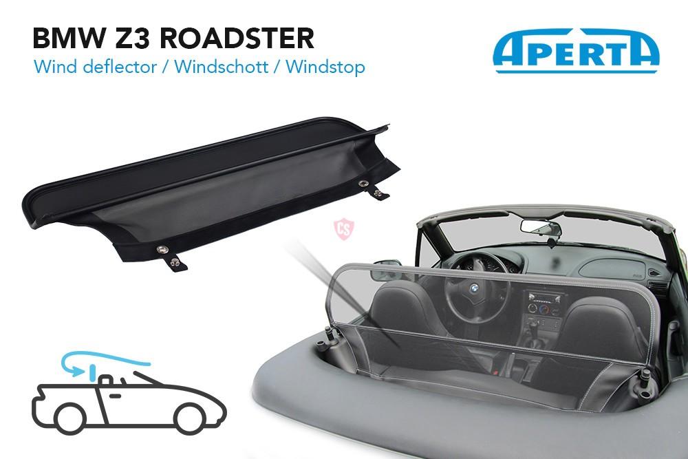Bmw Z3 Roadster Wind Deflector 1996 2003 Wind Deflectors Cabrio Supply