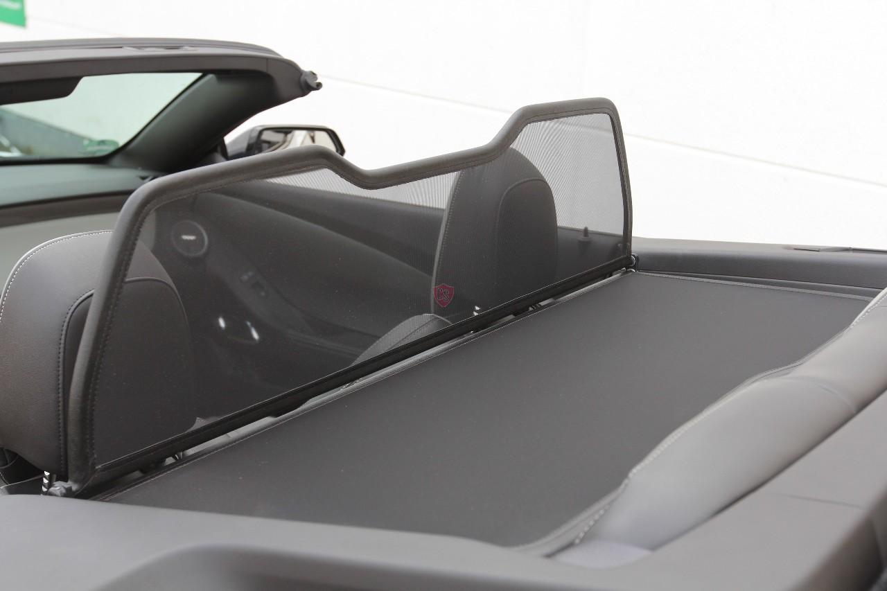 Chevrolet Camaro 5 Wind Deflector Mirror Design Black