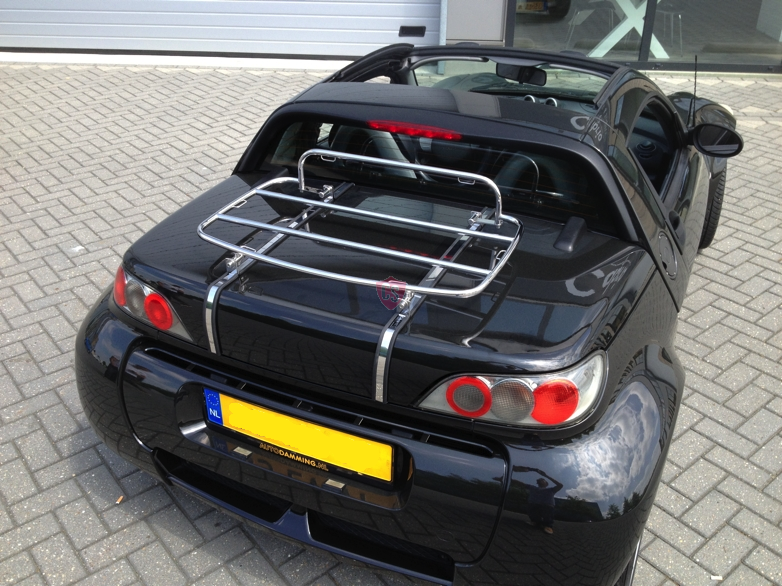 smart roadster luggage rack 2002 2005 cabrio supply. Black Bedroom Furniture Sets. Home Design Ideas