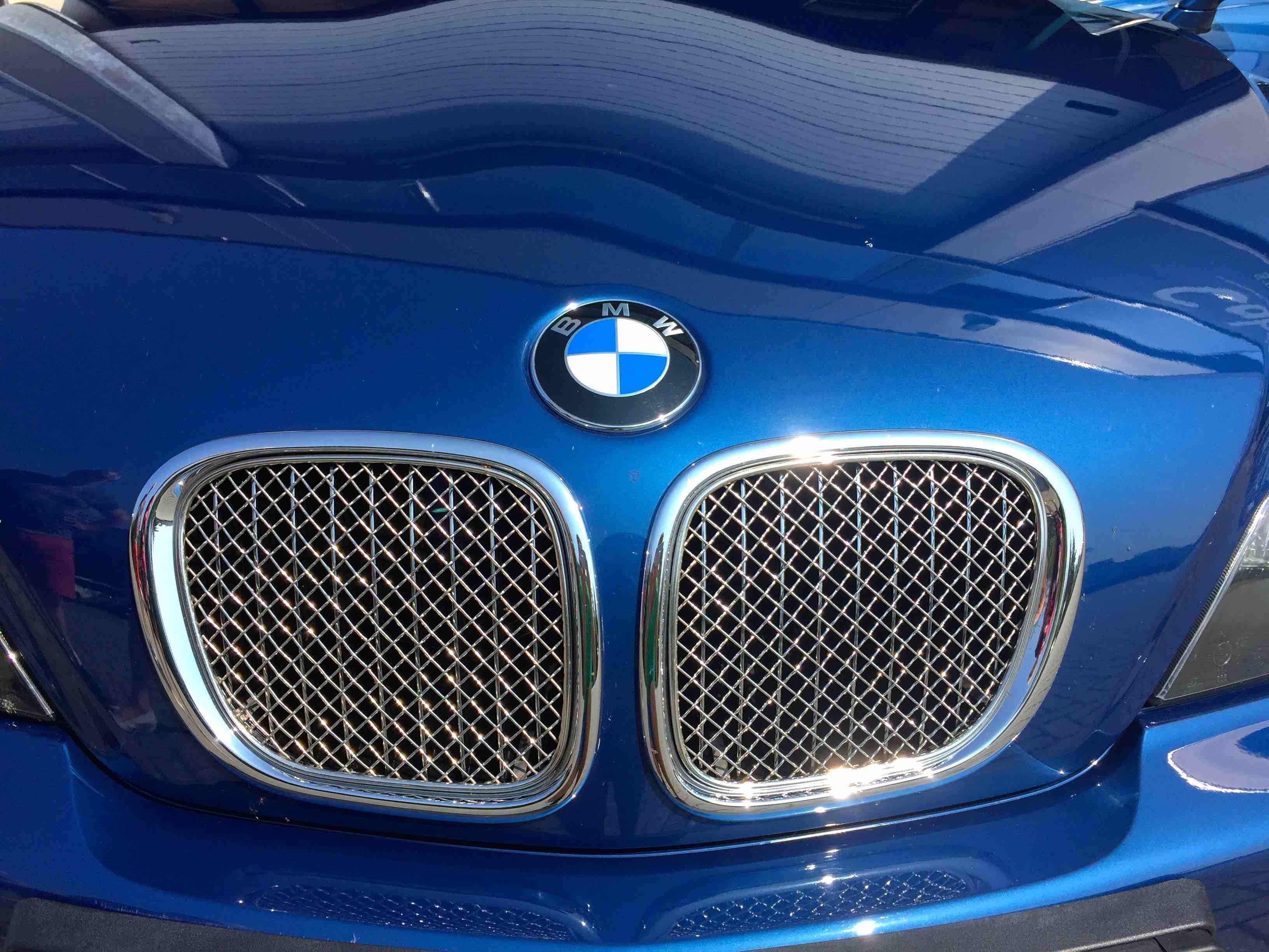 Bmw Z3 Roadster Front Grill 2 Pieces Cabrio Supply