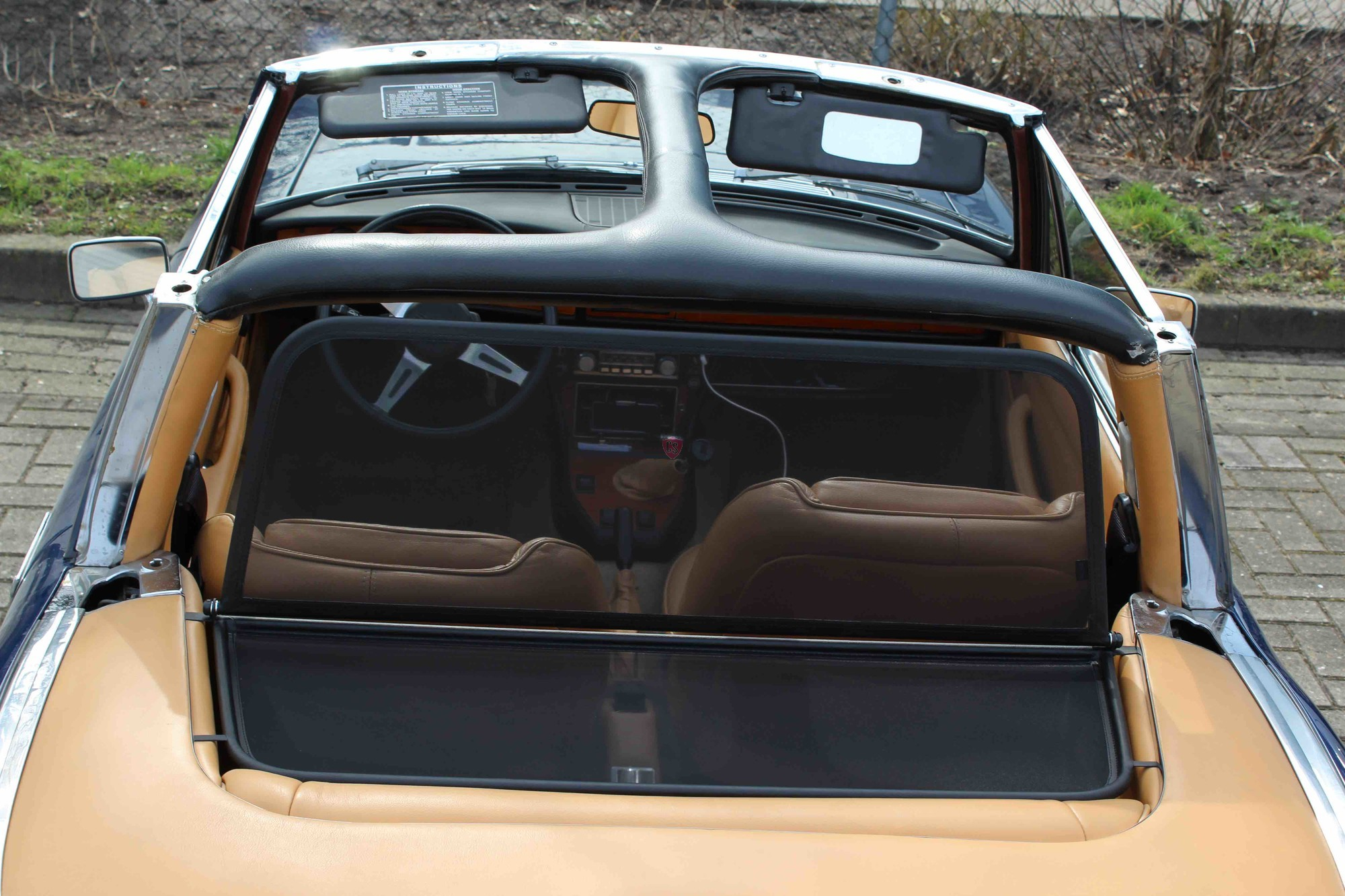 Triumph Stag Soft Top Frame